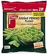 Judias verdes planas bolsa 750 g Findus