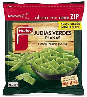 FINDUS Judias verdes planas bolsa 750 g