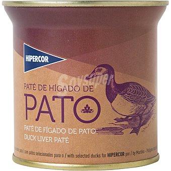 Hipercor Paté de hígado de pato lata 200 g Lata 200 g