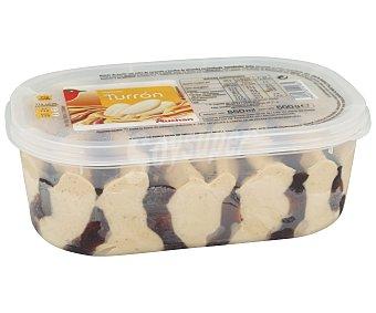 Auchan Tarrina de helado de sabor turrón 850 ml