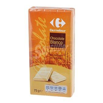 Carrefour Chocolate blanco 225 g