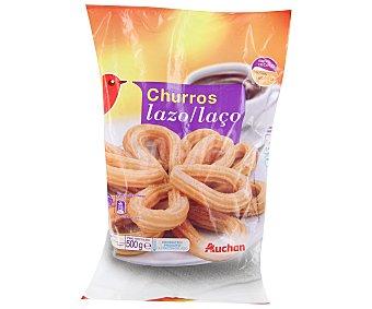 Auchan Churro lazo Bolsa de 500 gramos
