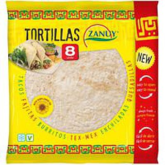 Zanuy Tortilla de trigo Paquete 320 g