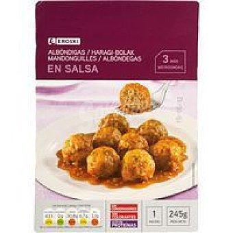 Eroski Albondigas en salsa Bandeja 245 g
