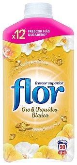 Flor Suavizante concentrado oro-orquídea Botella 50 dosis