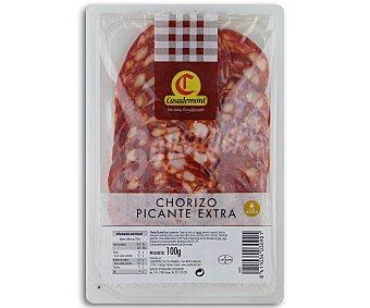 Casademont Chroizo Picante Extra Lonchas 90 Gramos