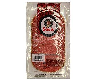 Solá Salami anchete extra a la pimienta, cortado en lonchas 80 g