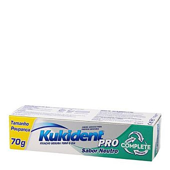 Kukident Crema Adhesiva Clasica Tamaño Ahorro 70 g