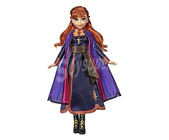 Disney Frozen Muñeca cantarina Anna con vestido luminoso, Frozen 2, disney