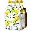 Agua mineral con gas sabor limón Botella de 25 centilitros pack de 4 Pedras