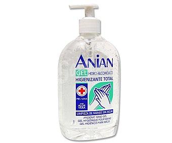Anian Gel higienizante total para limpieza de manos 500 mililitros