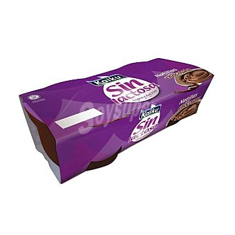 Kaiku Natillas sin lactosa Pack 2x125 g