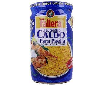 LA FALLERA Caldo para paella de marisco y pescado frasco 600 ml