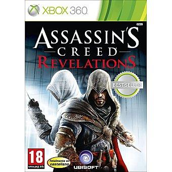 XBOX 360 Videojuego Assassins creed revelations  1 unidad