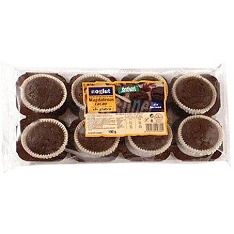 Santiveri Noglut Magdalenas de cacao sin gluten Envase 190 g