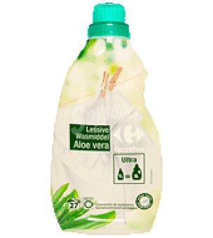 Carrefour Detergente líquido ultra concentrado aloe vera Botella de 1 L