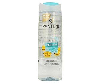 Pantene Pro-v Champú aqua light nutrición sin apelmazamiento para el cabello fino Bote de 400 ml