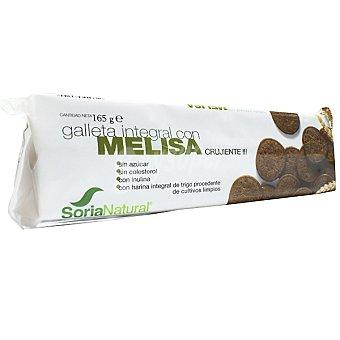 Soria Natural Galletas integrales crujientes con melisa Envase 165 g