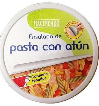 Hacendado Ensalada pasta con atun C/ tenedor Lata 240 g escurrido 200 g