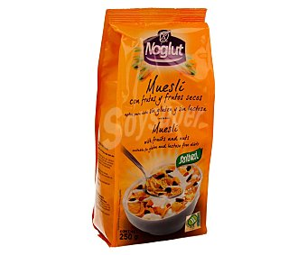 Santiveri Noglut Cereales muesli con frutas y frutos secos, sin gluten y sin lactosa 250 gr