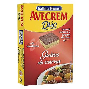 Avecrem Gallina Blanca Duo guisos de carne 112 gr