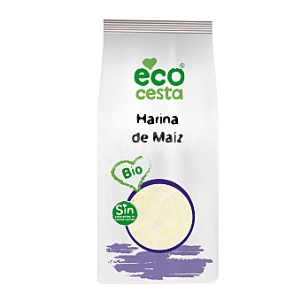 Ecocesta Harina de maíz de cultivo ecológico 500 gramos