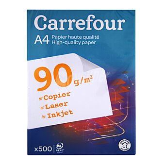 Carrefour Recambio 500 Hojas A4 90gr 500 ud