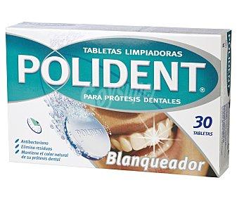 Polident Tabletas Blanqueadoras para Prótesis Dentales 30u