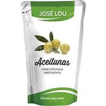 Hijos de José Lou Aceituna verde con hueso Bolsa 300 g