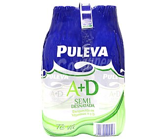 Puleva Leche semidesnatada 4x1,5L