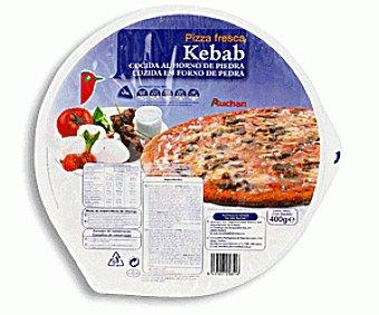 Auchan Pizza Refrigerada Kebab 400g