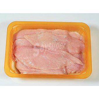 Filetes de pechuga de pollo corte fino bandeja (peso aprox. ) 650 gr