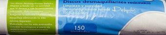 Deliplus Discos desmaquillantes redondos Paquete 150 u