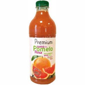 Premium Zumo exprimido de pomelo rosa Botella 75 cl