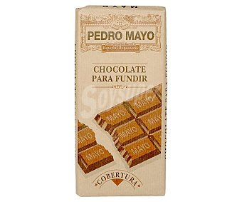 Pedro Mayo Tableta de chocolate para fundir 200 g