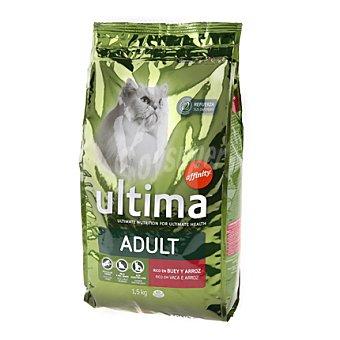 Ultima Affinity Croquetas con buey y arroz para gatos Adult Bolsa de 1,5 kg