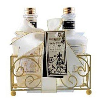 Gloss Cesta de baño con gel de ducha 220 ml. + locion corporal 220 ml. 1 ud