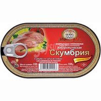 TPOUKA GOLD Caballa en salsa de tomate Lata 180 g