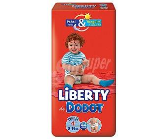 Dodot Pants pañal & braguita unisex de 8 a 15 kg talla 4 paquete 40 unidades 4 paquete 40 unidades