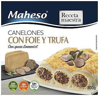 Maheso Canelones de foie-trufa Caja 300 g