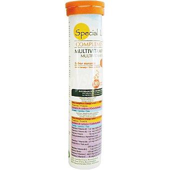 Special Line Multivitaminas efervescente sabor naranja Envase 20 unidades