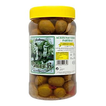 Brefer Aceituna verde partida 800 g