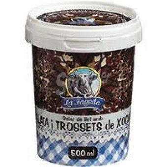 La Fageda Chocolate con trozos Tarrina 500 ml