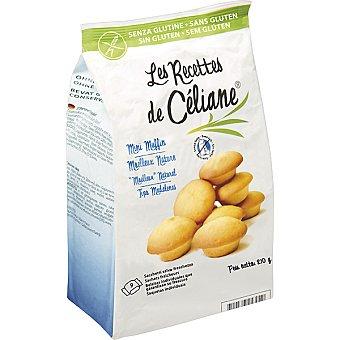 BIOGRAN LES RECETTES DE CELIANE Magdalenas naturales sin gluten Envase 210 g