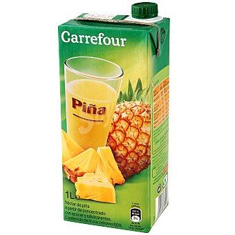Carrefour Néctar de piña 1 l