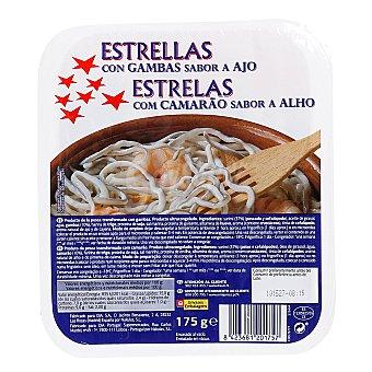 ESTRELLAS AGUINAGA Estrellas con gambas sabor a ajo Envase 175 gr