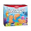 Galleta oceanix con cereales (forma de animales) (envase individual) Paquete 330 g (12 bolsas) Cuétara