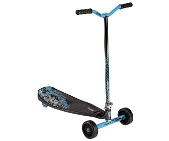 Pulse Patinete de 3 Ruedas Slither Plegable, Color Azul, Modelo 14039 1 Unidad