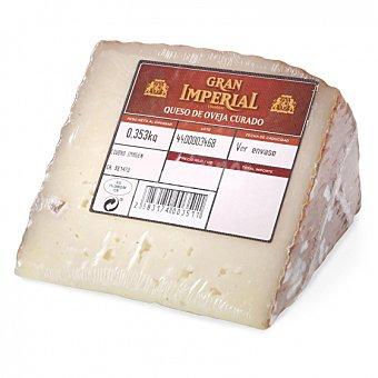 Gran Imperial Queso curado de oveja El cuña 1/8, 375 g aprox Envase de 375.0 g. aprox
