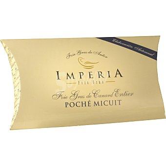 IMPERIA Foie gras de Canard entier poché micuit elaboración artesanal Envase 350 g